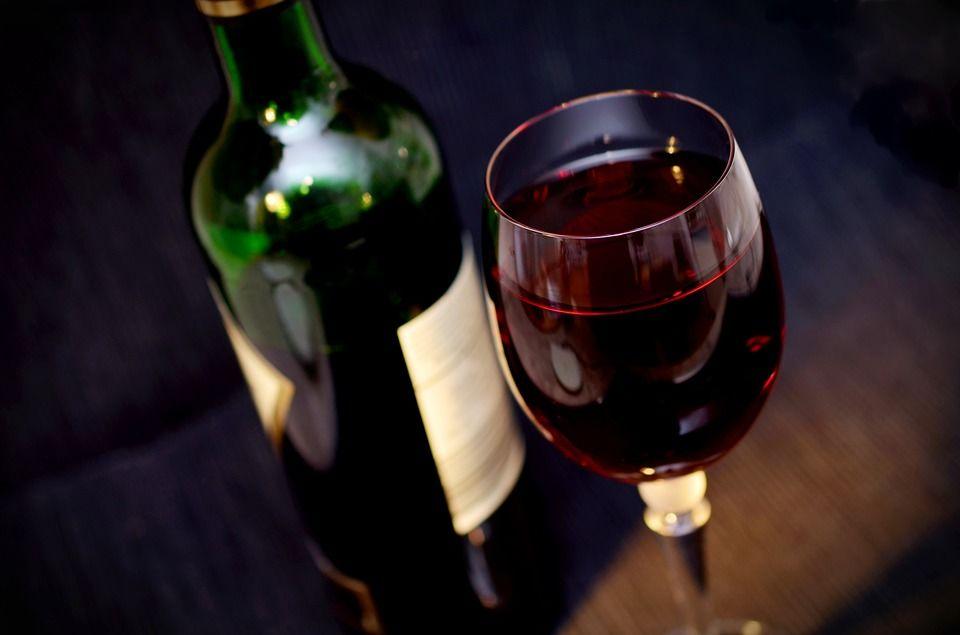 Liechteiner Wein als Inhalt der Gastronomietage