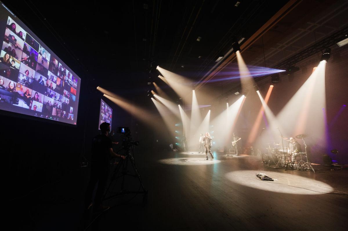 Ein Konzert ohne Publikum dafür mit Livestream