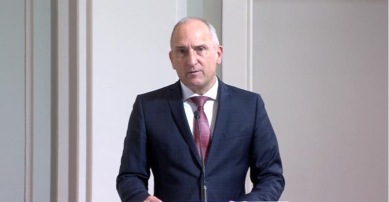 Adrian Hasler blickt auf seine Amtszeit zurück