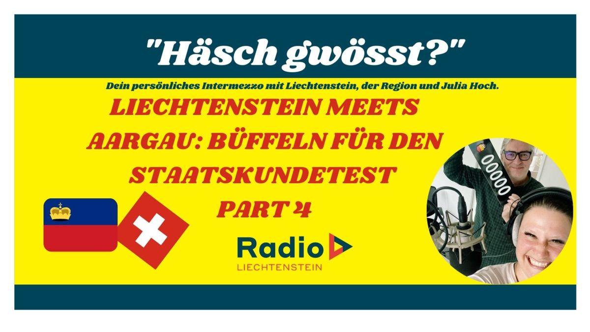 Liechtenstein meets Aargau: Büffeln für den Staatskundetest Part 4