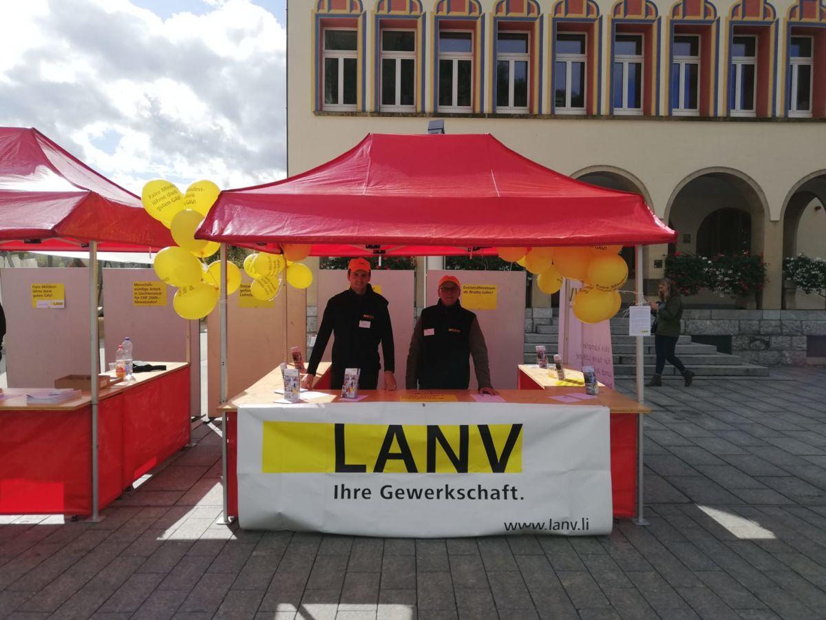 LANV gegen Lohndumping