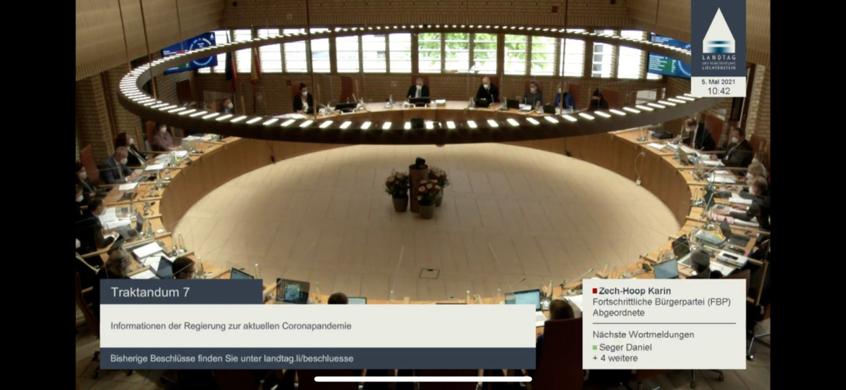 Landtagssitzung 09.06.2021 Vormittag