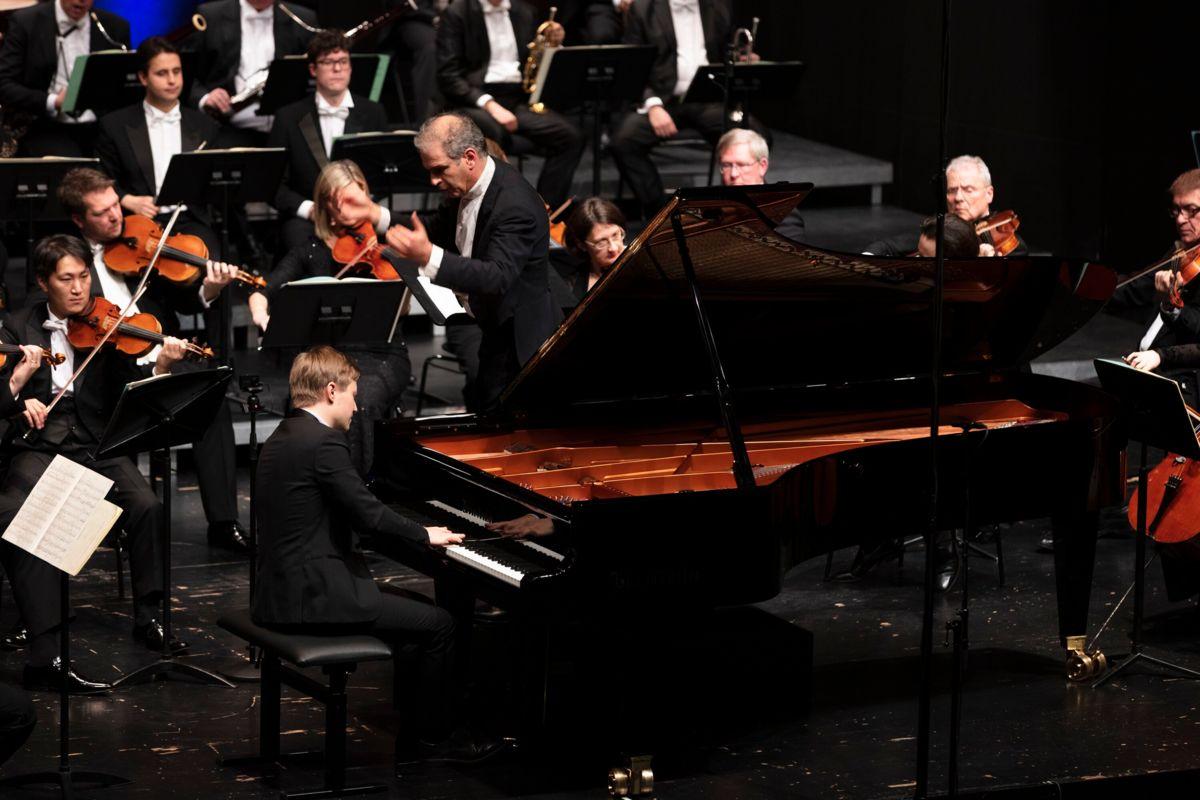 Gefeiertes Konzert des Sinfonieorchesters Liechtenstein
