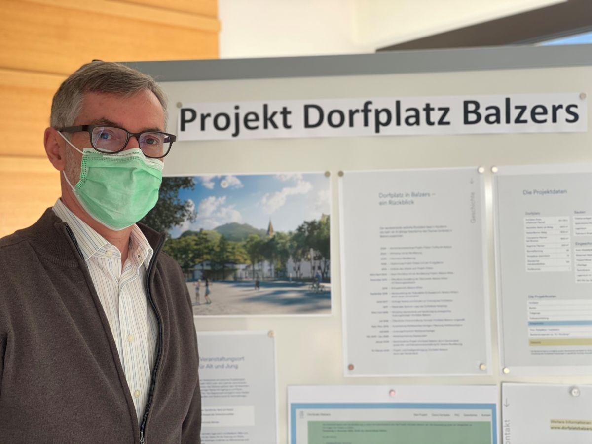 Gemeindevorsteher Hansjörg Büchel hofft auf ein