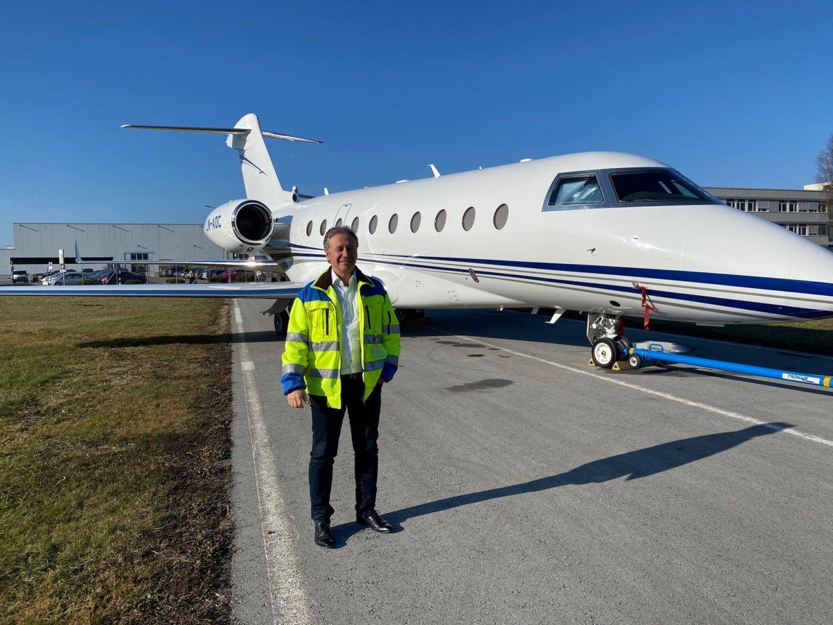 50. WEF: Ausnahmezustand am Flughafen Altenrhein