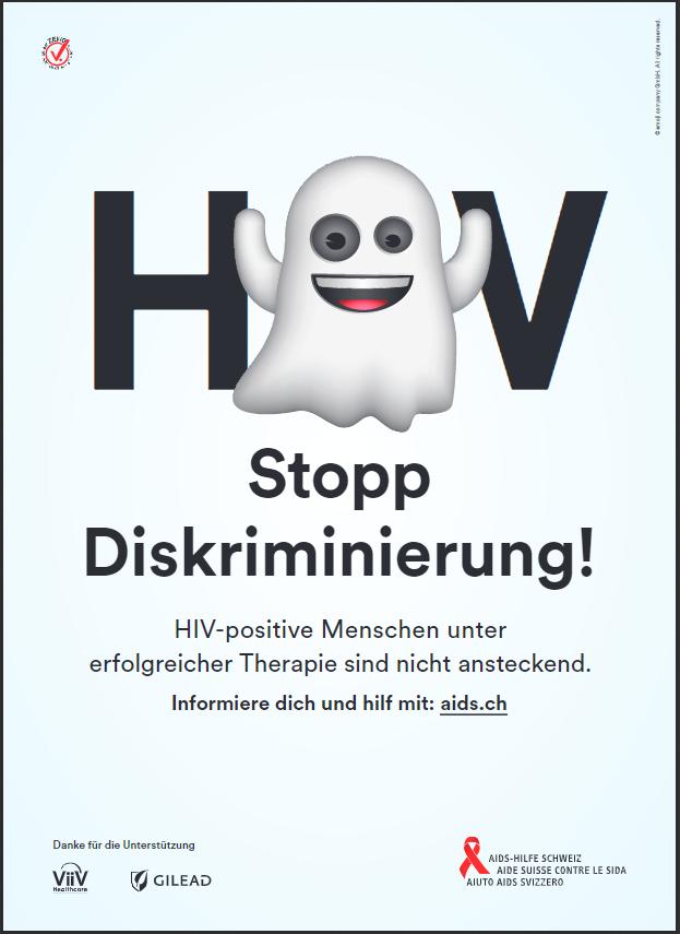 """Stopp Diskriminierung"" – Heute ist Welt-Aids-Tag."