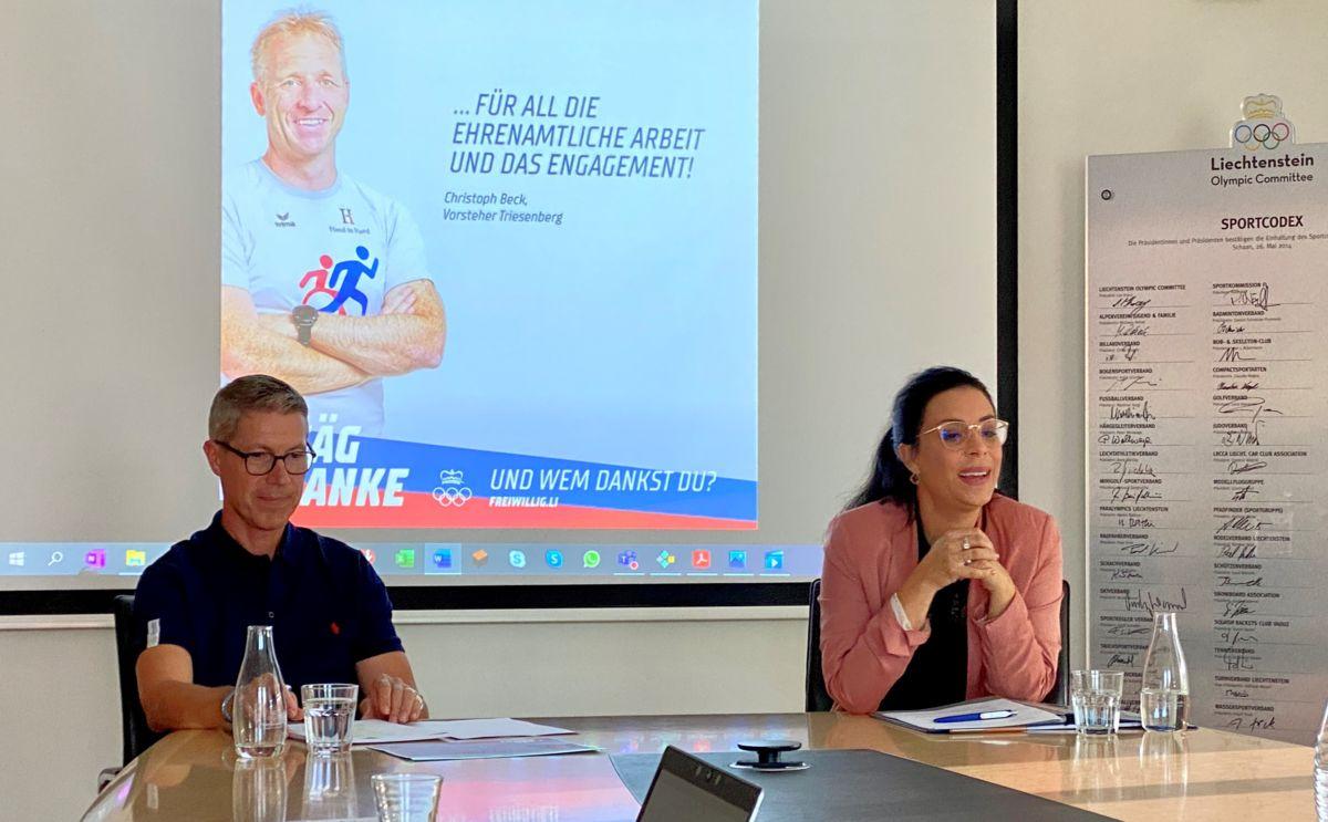 Sportliche Ehrenamtskampagne für Liechtenstein
