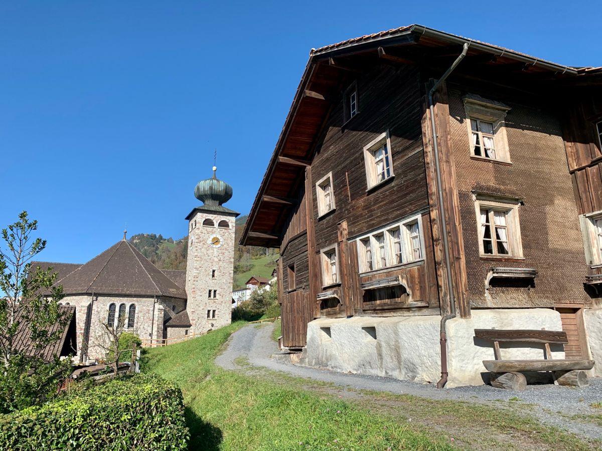 Gemeindevorsteher Christoph Beck freut sich über die Aufnahme in «Die schönsten Schweizer Dörfer»