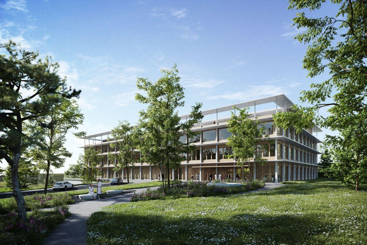 Neues Landesspital - Siegerprojekt steht fest