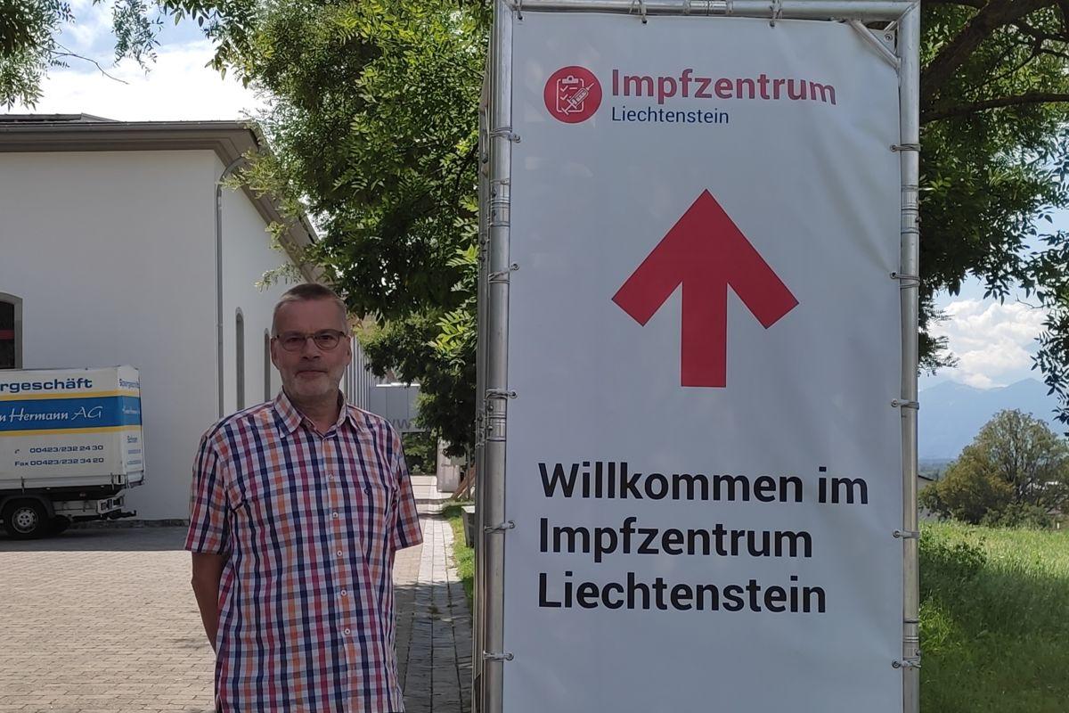 Mit 600 Impflingen war gestern ein Impfrekord im Impfzentrum Vaduz