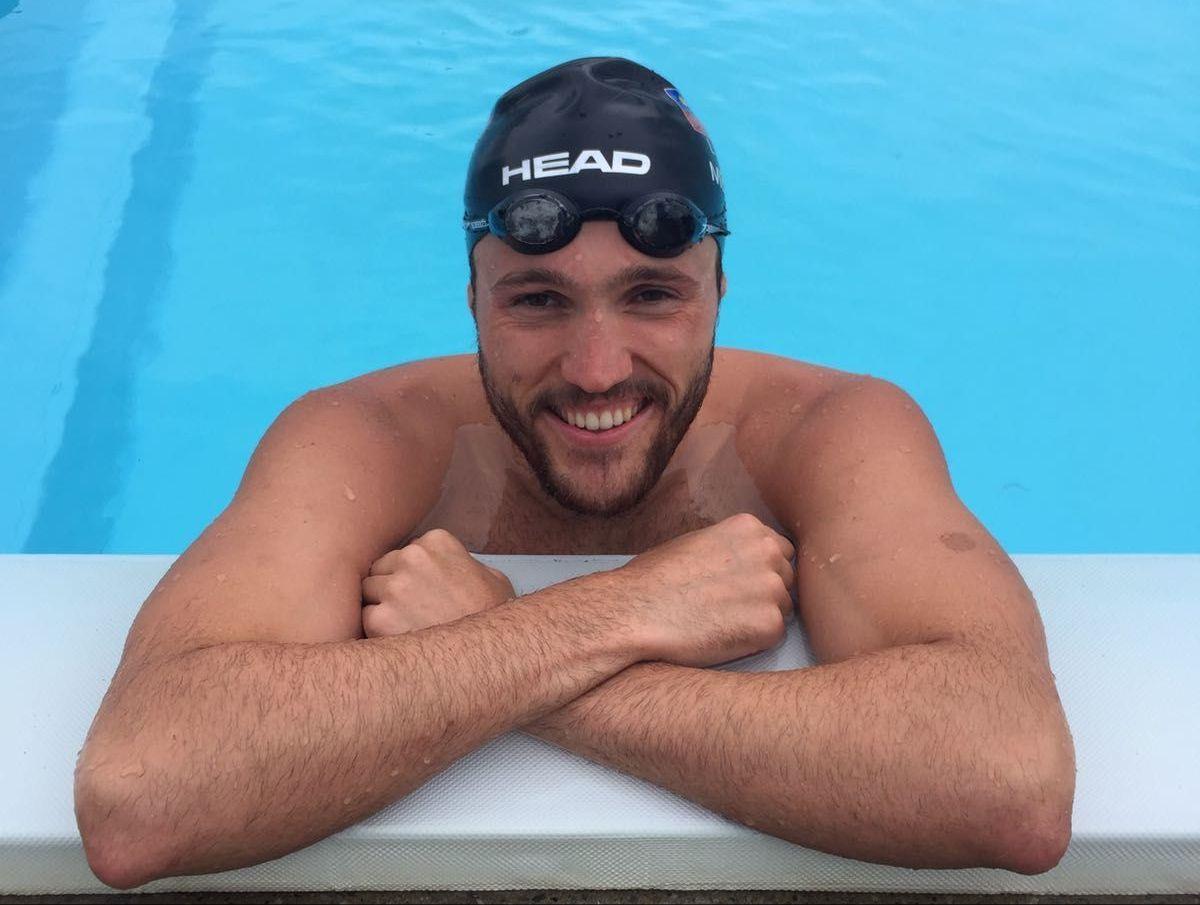 Christoph Meier ist zurück im Wasser
