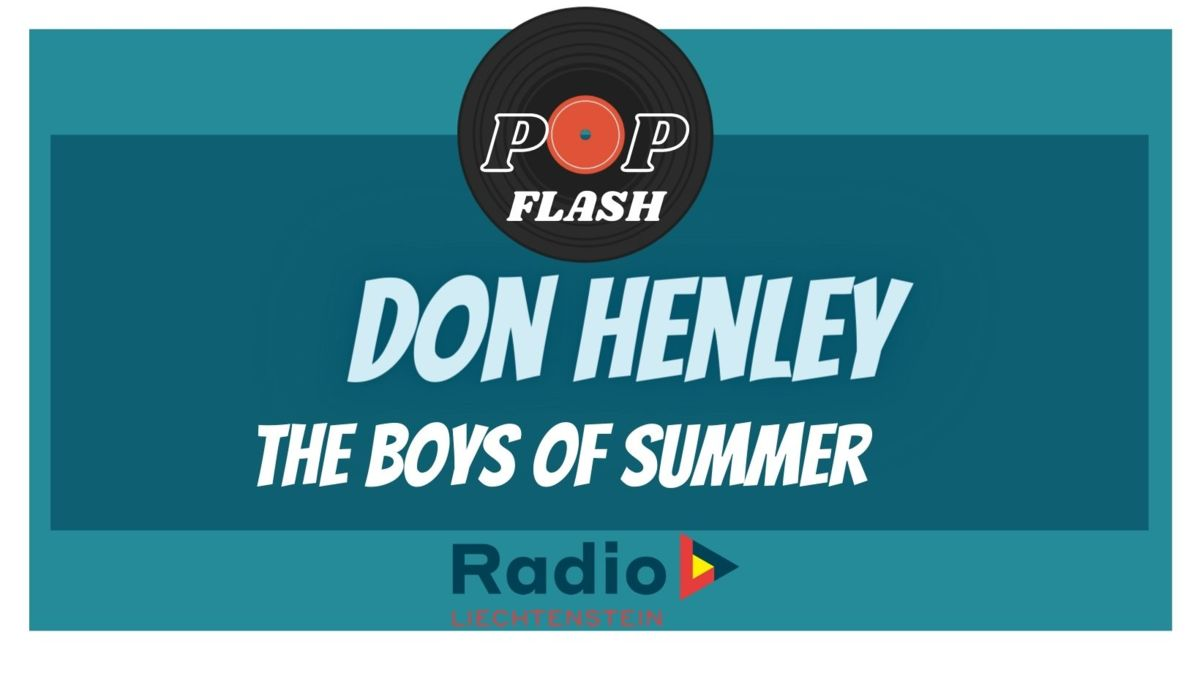 Radio L Popflash: Don Henley - The Boys of Summer