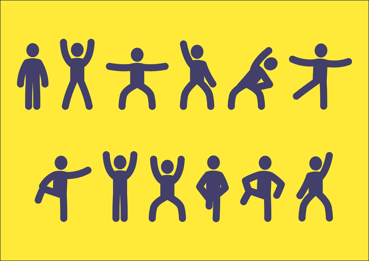 Gesund in die Woche: Optimale Bewegung im Home Office