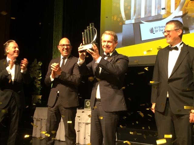 Alexander Ospelt ist neuer Unternehmer des Jahres