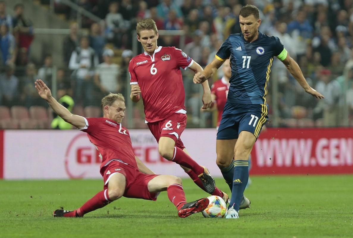 Klare Niederlage für Liechtensteins Fussballer