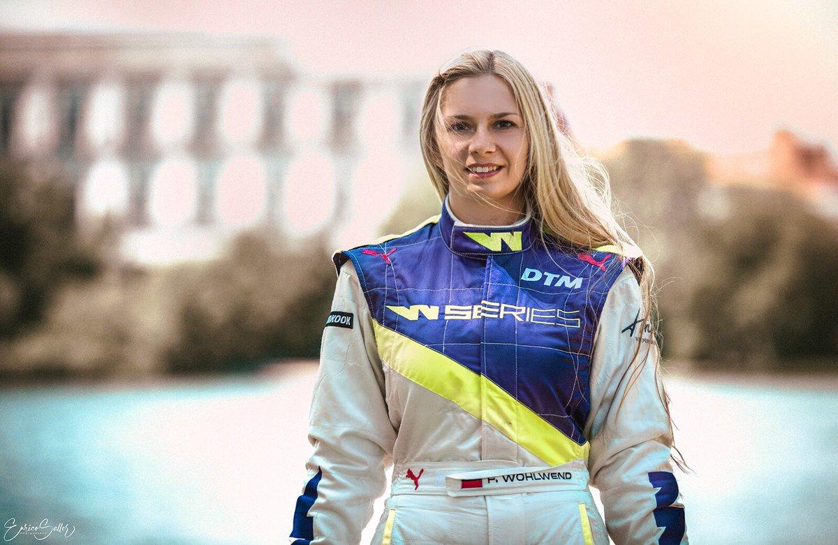 Fabienne Wohlwend für Brands Hatch top motiviert