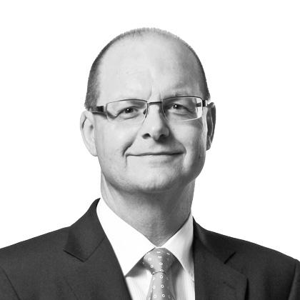 Fredy Vogt von der VP Bank freut sich über starke halbjahres Bilanz