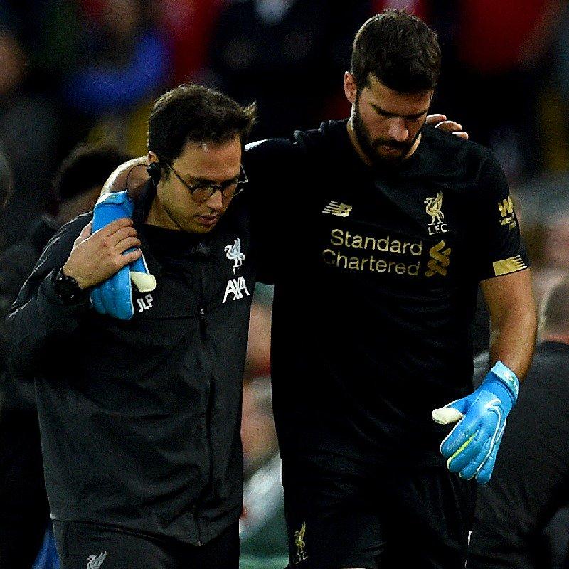 Fussball Liverpool Keeper Alisson Verletzt Radio Li
