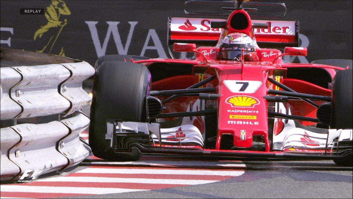 Formel 1: Kimi Raikkönen steht in Monaco auf der Pole