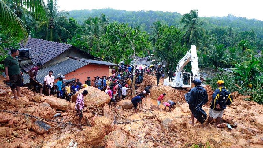 Zahl der Toten steigt nach Unwettern in Sri Lanka